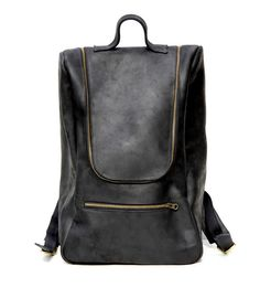 For my next handbag, I think I'll buy a backpack instead... Shadow Backpack; Black :: Mere