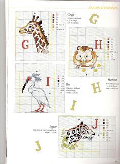 Gallery.ru / Фото #42 - DFEA 09 сентябрь-октябрь 1999 - fialka53 Jaguar, Bullet Journal, Map, Anchor, Embroidery, Children, Location Map, Anchors