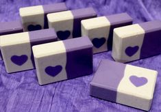 Four Embed Soap Batches for Valentine's Day – Soaps by Sly Handmade Soap Packaging, Handmade Soap Recipes, Handmade Soaps, Savon Soap, Lye Soap, Castile Soap, Glycerin Soap, Soap Melt And Pour, Soap Making Supplies