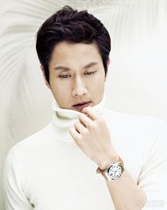 Jung Woo - Allure Magazine March Issue '14