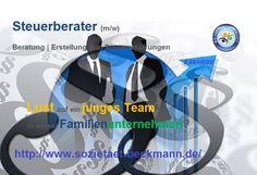 #fbSTELLEN  #SozBeckmann | Sucht Steuerberater (m/w) | Das Familienunternehmen aus Lünen bietet ein angenehmes Arbeitsklima in einem jungen Team. http://www.stb-luenen.de/index.php/karriere-stellenanzeigen-jobs