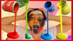 Вредные Детки покрасили Лицо Учим цвета с детской песенкой Youtube, Youtubers, Youtube Movies
