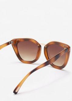 Okulary przeciwsłoneczne szylkret | MANGO