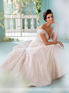 David Tutera - Sialia - 216254 - All Dressed Up, Bridal Gown