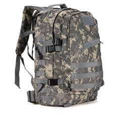 Hot Sale 55L 3D Outdoor Sport Military Tactical climbing mountaineering Backpack Camping Hiking Trekking Rucksack Travel Bag