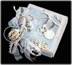 Mitt Lille Papirverksted: The Winter Box with Christmas Feeling