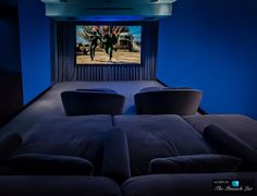 home theater  -Hopen Place Residence - 9010 Hopen Place, Los Angeles, CA