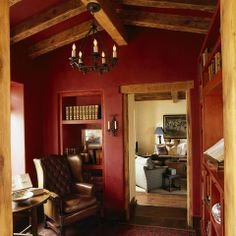 Red Ceiling Design Ideas, Pictures, Remodel and Decor