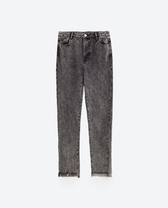Buy Zara Women Gray Mom Fit Jeans, starting at €26