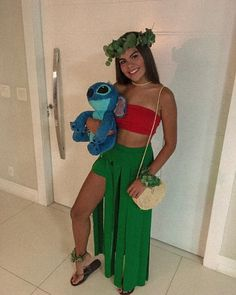 ohana ohana ohana ohana Halloween costume ohana ohana - New Ideas Halloween Mode, Cute Group Halloween Costumes, Trendy Halloween, Cute Costumes, Women Halloween, Barbie Halloween Costume, Costumes Kids, Funny Halloween, Diy Lilo Costume