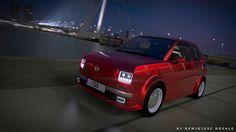 """Przejrzyj mój projekt w @Behance: """"Fiat 126 Concept""""…"""