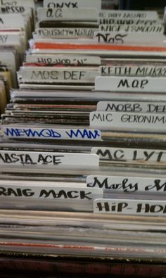These new Dj's will never know the joy of shopping for Vinyls.