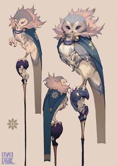 Monster concept art character design rpg ideas for 2019 Creature Concept Art, Creature Design, Creature Drawings, Animal Drawings, Fantasy Character Design, Character Art, Animation Character, Game Character Design, Character Concept