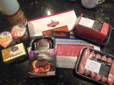 Local and Scottish produce for breakfast.