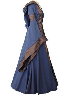 Medieval Gown - Renaissance/SCA Garb  -I'm sorry I don't have the original link, I saved it to my iPad and I just had to pin it so I wouldn't lose it..
