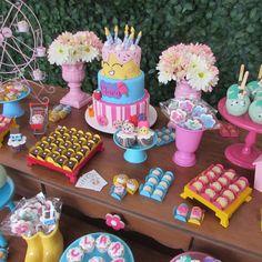 festacleanchic.com Festa Clean Shopkins decoração @festaclean doces @sweetkimmidoces