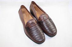 NEW Gravity Defyer Douglas Dress Shoes Loafers Brown Comfort Height Sz 12.5 $149 #GravityDefyer #LoafersSlipOns