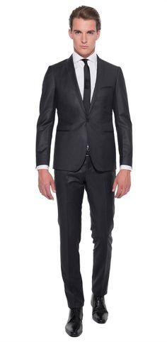 Runway Stylish Kostuum Antraciet OFM385 - Only for Men