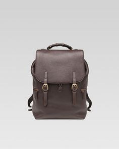 96231539578 Brown Backpack by Gucci. Buy for  3,400 from Neiman Marcus Men s Backpack,  Drawstring Backpack
