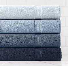 Turkish Towels shore collection #RestorationHardware