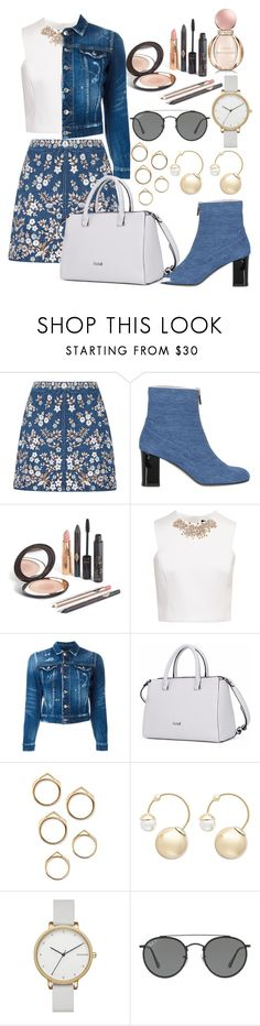 """Untitled #229"" by fifi82101 ❤ liked on Polyvore featuring Needle & Thread, Camilla Elphick, Ted Baker, Dsquared2, Witchery, Skagen, Ray-Ban and Bulgari"