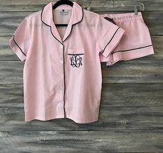 Monogram PJs ...I just have a thing for PJs