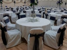 chair covers morecambe office queenstown 57 best blue bows images bow back alternating navy satin and organza on white