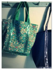 Tutorial vanessa bruno sequin bag | tuto sac a sequins vanessa Bruno