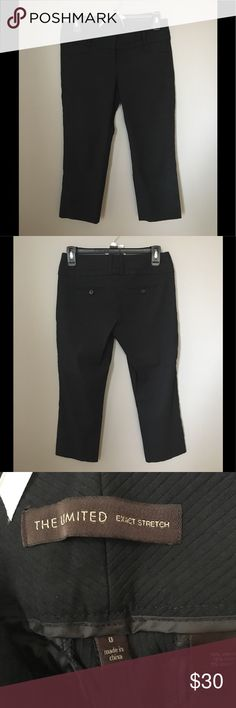 Business attire capris from The Limited Wide leg capris from The Limited, high rise The Limited Pants Capris