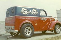 Indy 1969, Shroyer's Shaker Thames Panel gasser