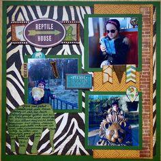 Reptile House - Scrapbook.com