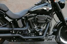 Harley-Davidson Fat Boy S engine close-up