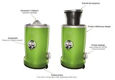 Vita Juicer zielony