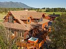 VRBO.com #514534 - Magnificent Luxury Home on the Flathead River Sleeps 14+