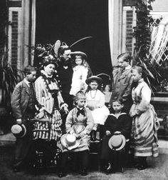 Victoria, Friedrich, Wilhelm, Charlotte, Heinrich, Viktoria, Joachim, Sophie  Margarete