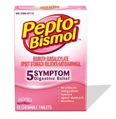 Pepto-Bismol is an OTC medicine used in dogs for the treatment of diarrhea and Helicobacter gastritis. This page contains the dosage, side effects and more!