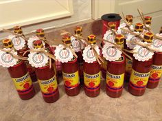 Crawfish boil baby shower favors! 62 cents each at Walmart :)