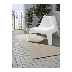 "MORUM Rug, flatwoven - indoor/outdoor beige, 2 ' 7 ""x6 ' 7 "" - IKEA"