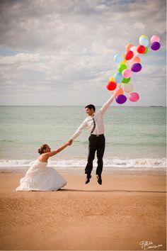 Balões em casamentos