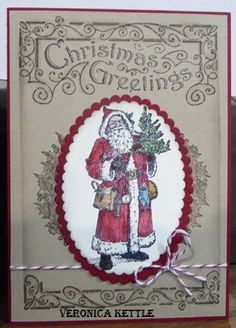 Father Christmas by Veronica Kettle (Australia)