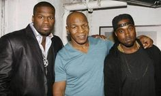 Mike tyson Kanye West 50 Cent