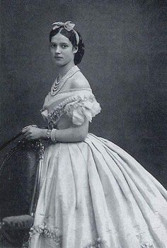 Photo of Alexandra Feodorovna Romanoff, Anastasia's grandmother.