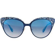 Jimmy Choo Estelle Lace-Pattern Cat-Eye Sunglasses ($425) found on Polyvore featuring accessories, eyewear, sunglasses, glasses, cateye sunglasses, cat eye sunglasses, gradient lens sunglasses, grey sunglasses and cateye glasses