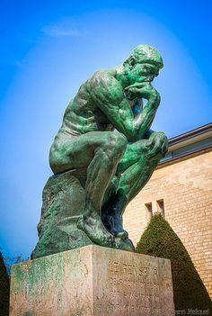 #Paris - Le Penseur , Auguste Rodin