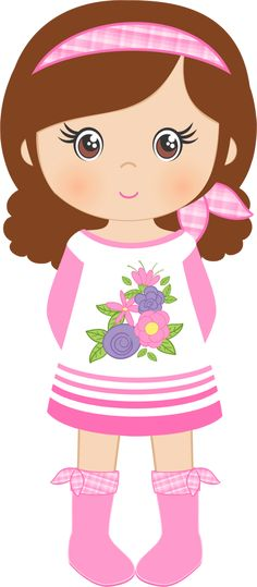 "Photo from album ""«Spring Shabby Chic Felt Dolls, Paper Dolls, Cute Little Girls, Cute Kids, Girls Clips, Girl Clipart, Clip Art, Doll Quilt, Girls Quilts"