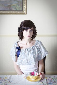 capelet. so cute to dress up a tee