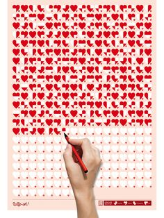 Life Calendar: Love Life, Day by Day on Behance