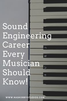 Sound Engineering Career Every Musician Should Know!