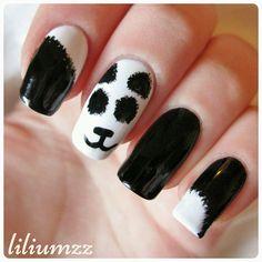 "Fuzzy panda nails  Check out my instagram @liliumzz  nspired by @cutepolish ❤#cutepolish""#fuzzypandas #pandanailart #pandanails #pandas #nail #nails #nailart #naildesign#nailpolish #nailstagram #manicure #dottingtool #mani #manicure #nails2inspire #notd #nailsoftheday #norskenegler #cutenails #nagellack #nailspiration #neglelakk #dotts #liliumzz #nailswag#nailpictures"