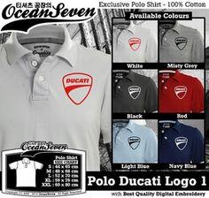 Baju Kaos Polo Ducati Logo 1 - PIN BB  26460DF6 fe8f16ea3c